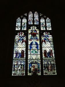 Elgar Window, Worcester Cathedral